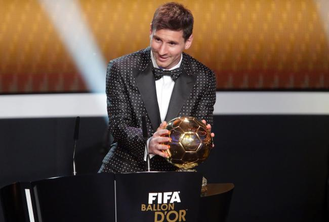 Messi et le Ballon d'Or